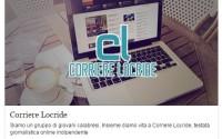 Il progetto Corriere Locride è su Eppela