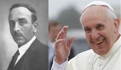Nino Costa e Papa Francesco