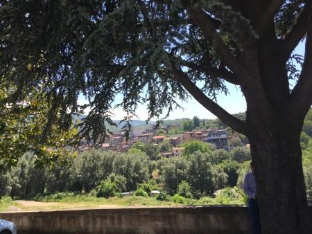 La collina panorama